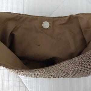 The Sak Bags - The Sak Woven Knit Crochet Hobo Shoulder Bag